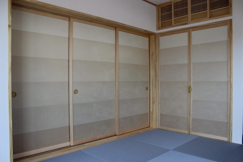 松田宅建センター施工事例 O邸 大壁和室